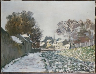 Snow at Argenteuil, c.1874 Fine Art Print by Claude Monet