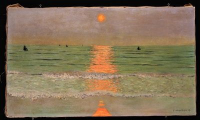 Sunset, 1913 Fine Art Print by Felix Edouard Vallotton
