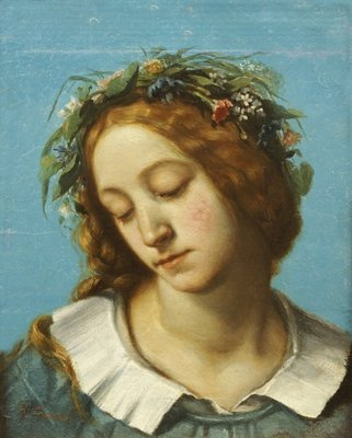 Ophelia, 1842 Wall Art & Canvas Prints by Gustave Courbet