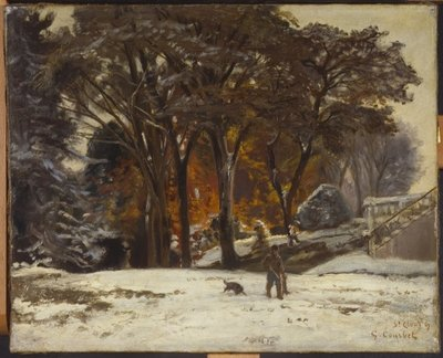 The Poacher, 1867 Fine Art Print by Gustave Courbet