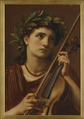Music, Heavenly Maid, 1889 Fine Art Print by Sir Edward John Poynter