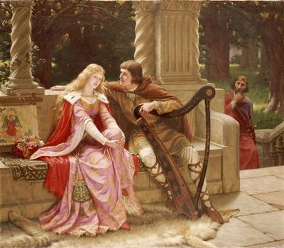 The End of the Song, 1902 Wall Art & Canvas Prints by Edmund Blair Leighton