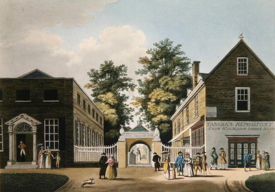 Old Wells and Pump Room, Cheltenham Fine Art Print by Thomas Hulley