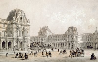 The Finished Louvre Fine Art Print by French School