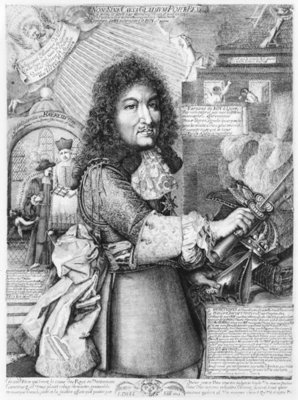 Louis XIV Poster Art Print by French School