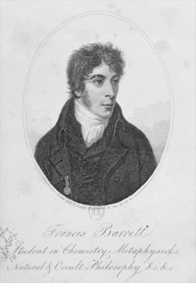 Francis Barrett, illustration from 'The Magus', London, 1801, published by Lackington, Allen, and co. Poster Art Print by Daniel Orme
