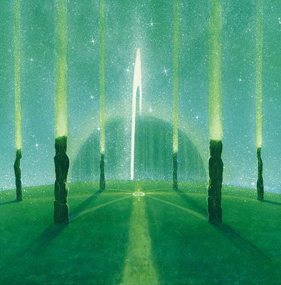 Internal Pathways Poster Art Print by Simon Cook