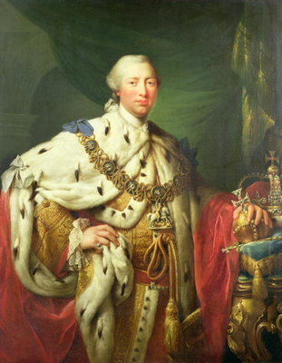 Portrait of George III Fine Art Print by Allan Ramsay