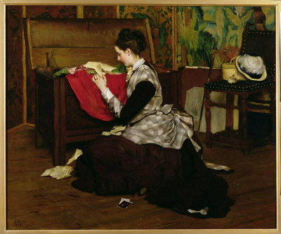 Old Letters and Dead Leaves Fine Art Print by Claude Andrew Calthrop