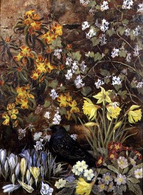 Spring Flowers Fine Art Print by Mary Ensor