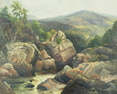 Killiecrankie Wall Art & Canvas Prints by William Beattie Brown