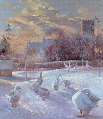 First Light, 1994 Fine Art Print by Timothy Easton