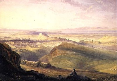 Edinburgh: from Arthur's Seat Fine Art Print by Hugh William Williams