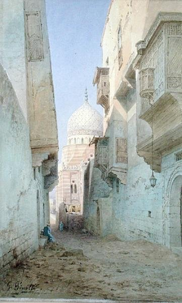 Old Cairo Fine Art Print by G. Pinotti
