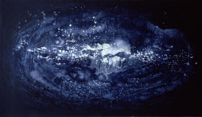 Galaxy in Cloud, 1993 Fine Art Print by Sally Elliott
