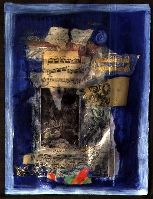 Landscape, 1998 (mixed media) Fine Art Print by Nissan Engel
