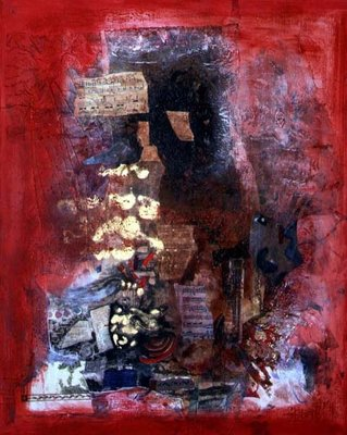 Composition, 1997 (mixed media) Wall Art & Canvas Prints by Nissan Engel