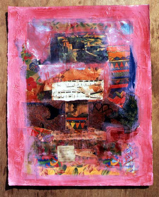 Pink, 1999 (mixed media) Postcards, Greetings Cards, Art Prints, Canvas, Framed Pictures, T-shirts & Wall Art by Nissan Engel