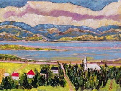 St. Germain, Quebec Fine Art Print by Patricia Eyre