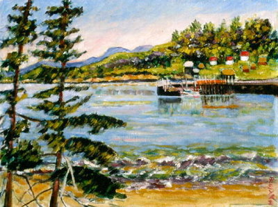 Seal Cove, Grand Manan Island Fine Art Print by Patricia Eyre