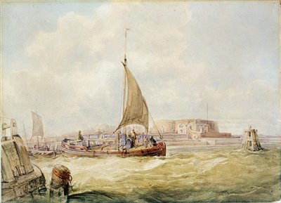The Old Harbour, Hull Fine Art Print by George the Elder Chambers
