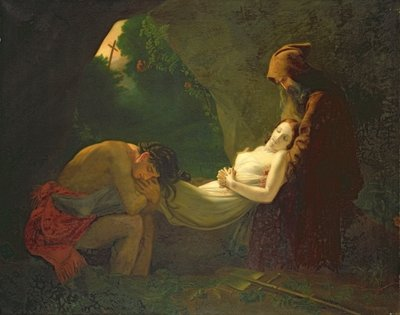 Les Funerailles d'Atala Wall Art & Canvas Prints by Anne Louis Girodet de Roucy-Trioson