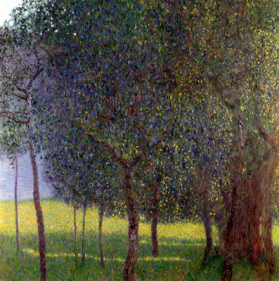 Fruit Trees, 1901 Fine Art Print by Gustav Klimt