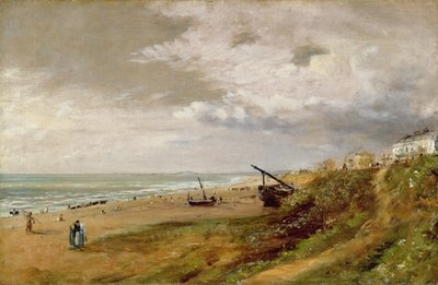 Hove Beach Fine Art Print by John Constable