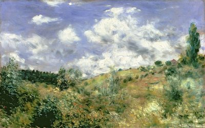 The Gust of Wind, c.1872 Fine Art Print by Pierre-Auguste Renoir