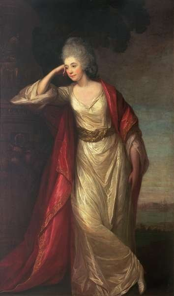 Margaret Kemble, wife of General the Hon. Thomas Gage, 1775 Fine Art Print by David Martin