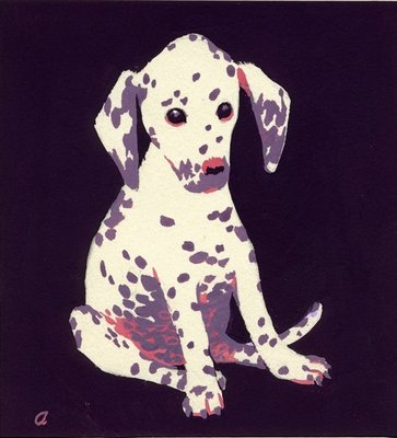 Dalmation Puppy, 1950s Fine Art Print by George Adamson