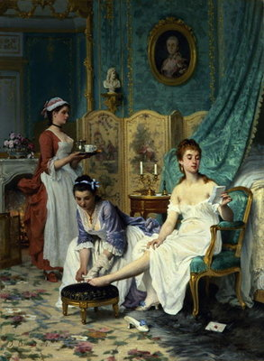 The Levee, 1892 Wall Art & Canvas Prints by Joseph Caraud