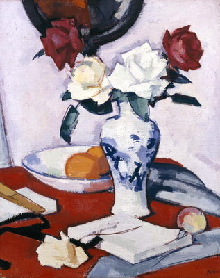Roses Postcards, Greetings Cards, Art Prints, Canvas, Framed Pictures, T-shirts & Wall Art by Samuel John Peploe