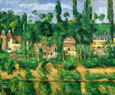 The Chateau de Medan, c.1880 Fine Art Print by Paul Cezanne