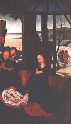 Birth of Christ Fine Art Print by Martin Schongauer
