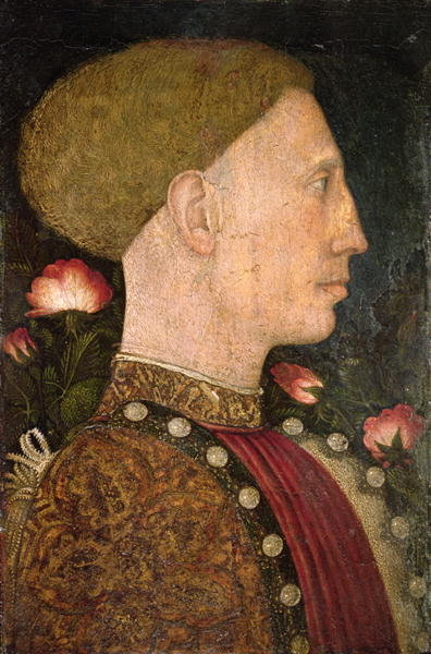 Portrait of Lionello d'Este Fine Art Print by Antonio Pisanello