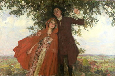 Tess of the D'Urbervilles or, The Elopement Fine Art Print by William Hatherell