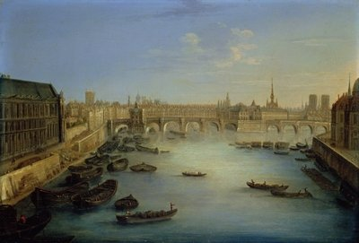 View of Paris Wall Art & Canvas Prints by Charles Laurent Grevenbroeck