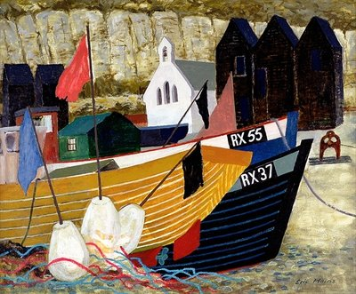 Hastings Remembered (oil on canvas) Wall Art & Canvas Prints by Eric Hains