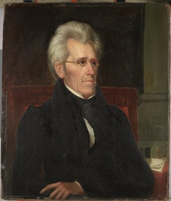 Andrew Jackson, c.1830 Postcards, Greetings Cards, Art Prints, Canvas, Framed Pictures, T-shirts & Wall Art by Ralph Eleaser Whiteside Earl