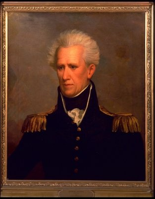 Andrew Jackson Postcards, Greetings Cards, Art Prints, Canvas, Framed Pictures, T-shirts & Wall Art by Jacob Eichholtz