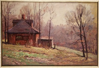 Old Studio Fine Art Print by Theodore Clement Steele