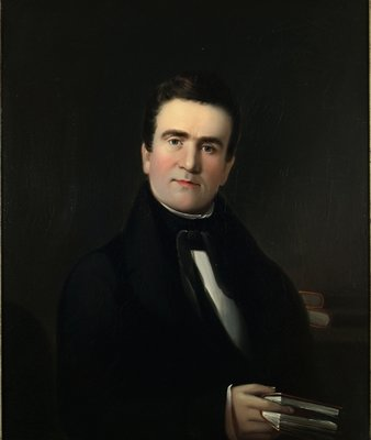 Mr. Hiram Hall of Portland, Maine, c.1839 Wall Art & Canvas Prints by William Matthew Prior