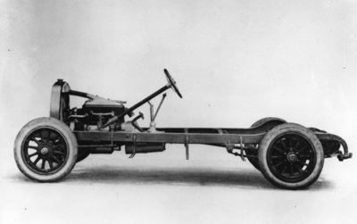 DuPont automobile chassis, c.1919-30 Fine Art Print by American School