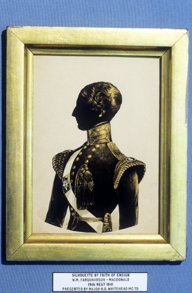 W. M. Farquaharson-MacDonald, 19th Regiment, 1841 Poster Art Print by English School