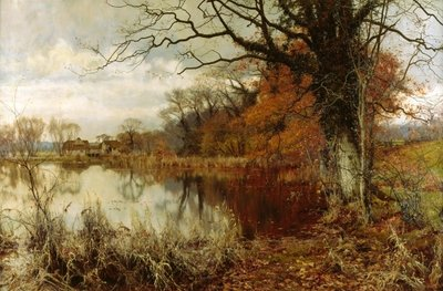 The Mellow Year is Hastening, 1896 Wall Art & Canvas Prints by Edward Wilkins Waite