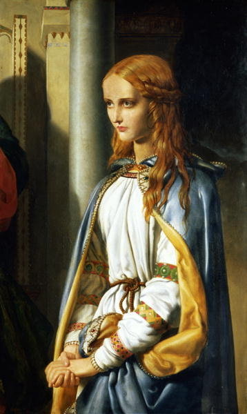 Cordelia Disinherited, 1850 Wall Art & Canvas Prints by John Rogers Herbert