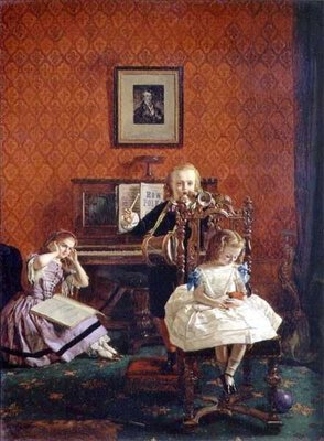 Music Hath Charms, 1861 Wall Art & Canvas Prints by William Maw Egley