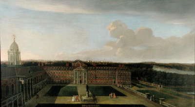 The Royal Hospital, Chelsea, 1717 Wall Art & Canvas Prints by Dirk Maes