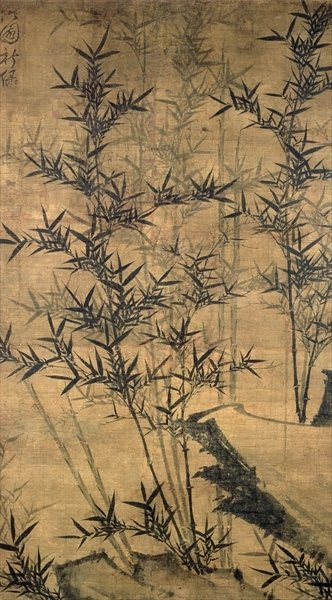 Bamboos Wall Art & Canvas Prints by Yu Dok-jang